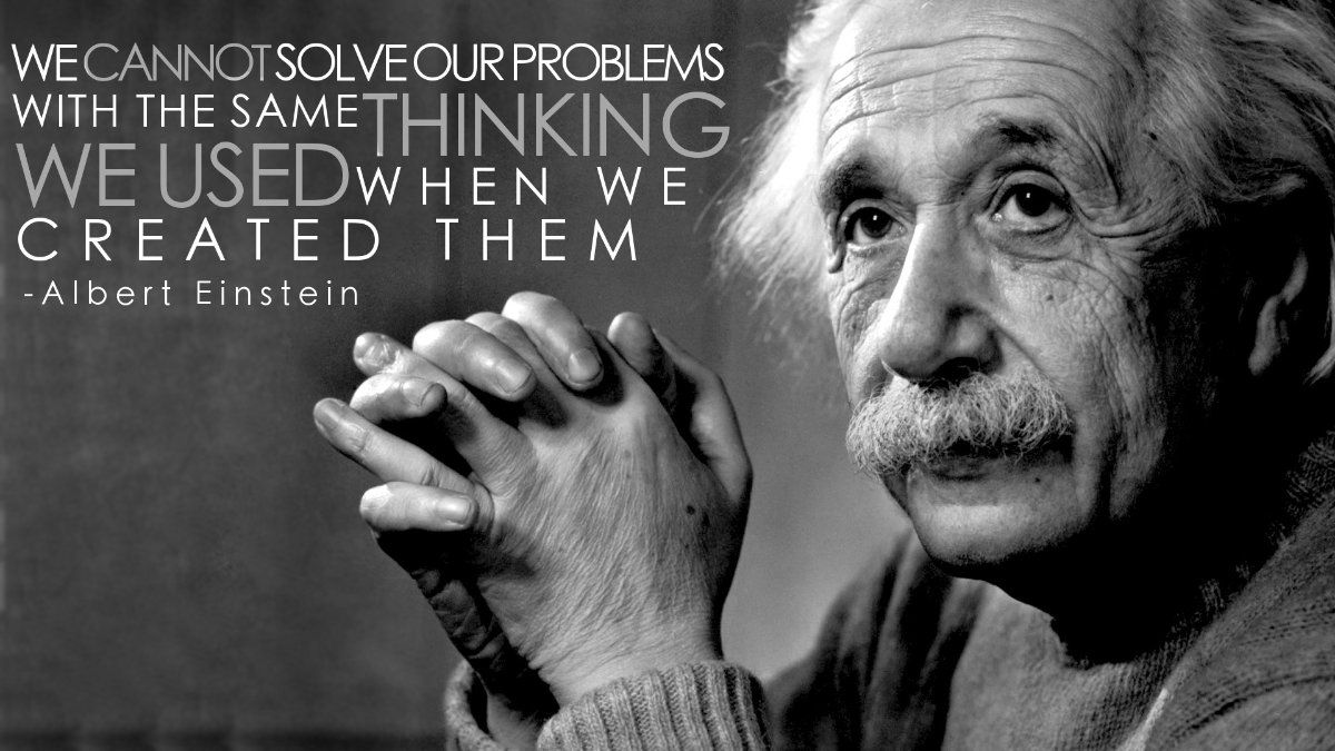 Our Future Depends On Spirituality Science Linkedin Frases Sobre Innovación Citas De Albert Einstein Citas De Einstein
