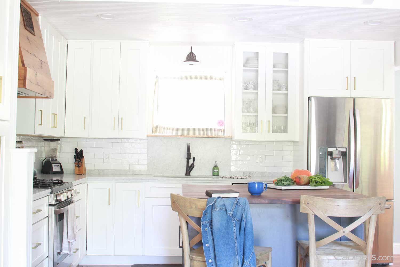 Shaker II Maple Bright White | Kitchen remodel, Farmhouse ...