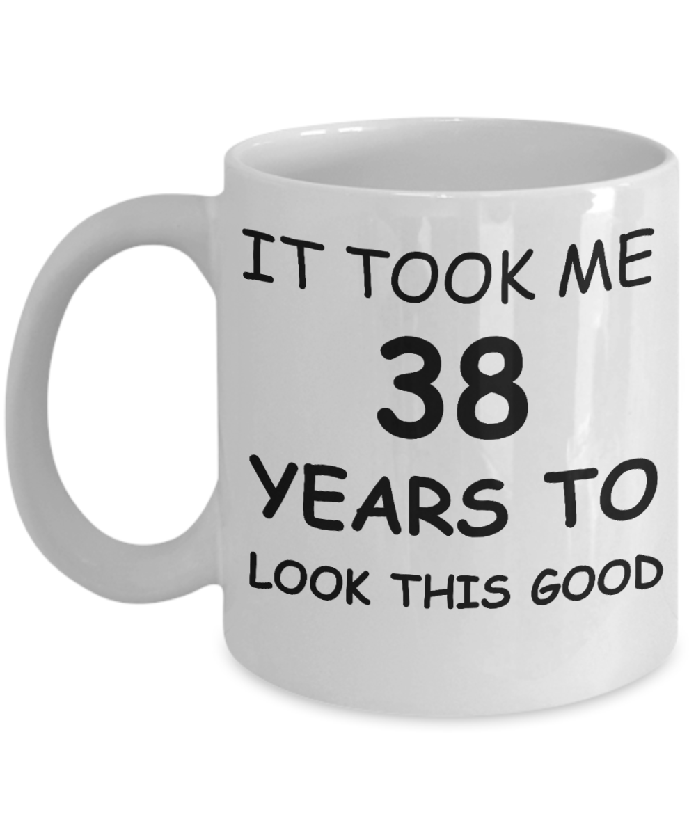 38th Birthday Gifts For Men Women Gift Mugs