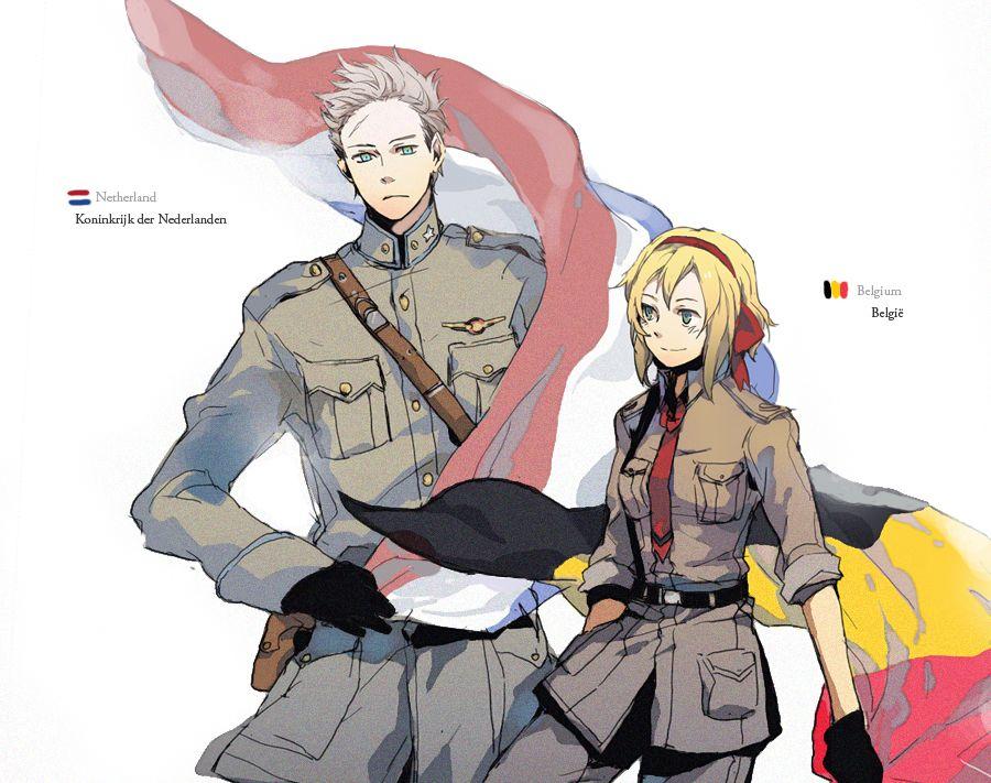 aph-Holland and Belgium by Nios54.deviantart.com on @DeviantArt