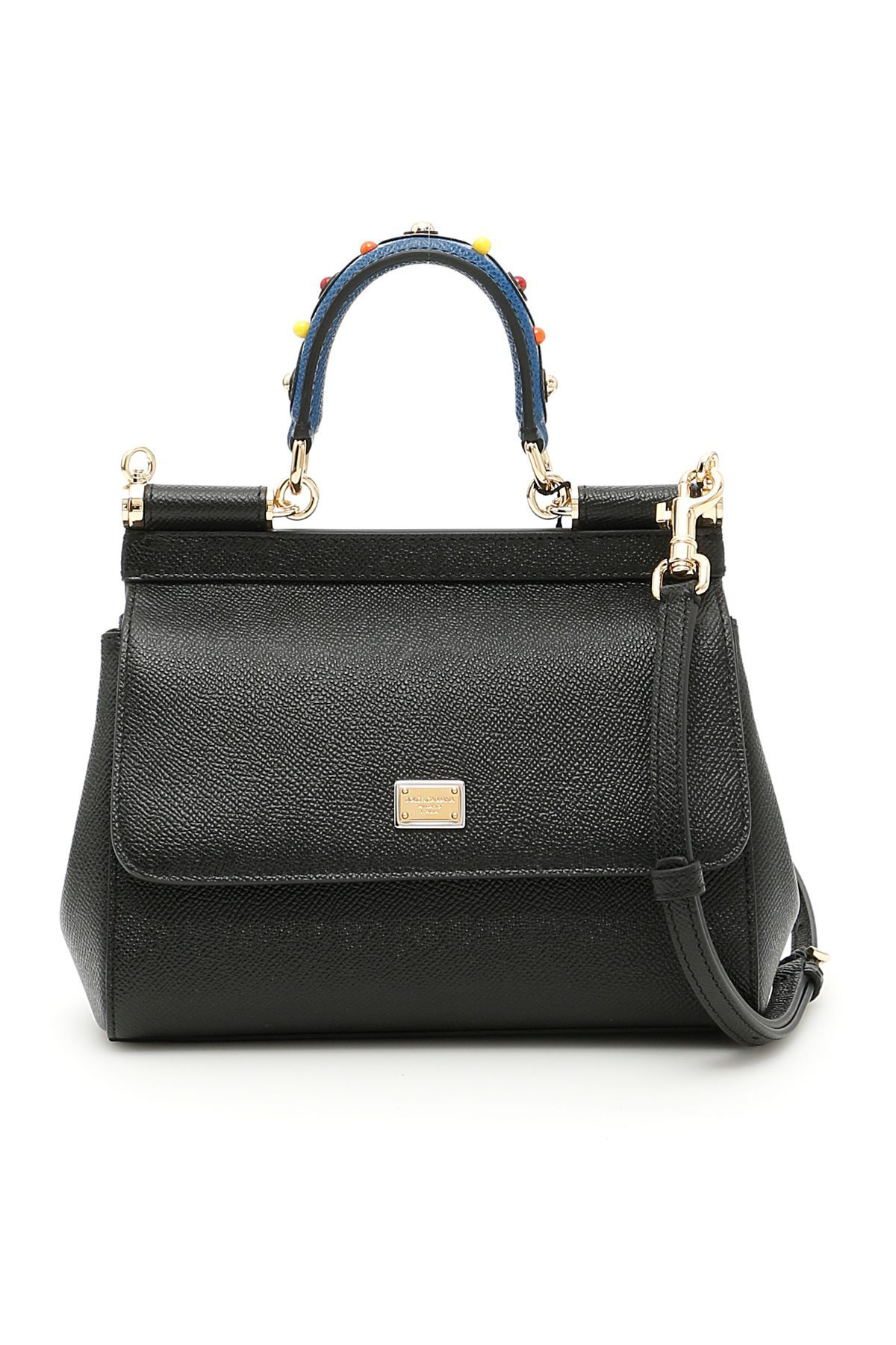 7d0ab52c45 DOLCE   GABBANA SMALL SICILY BAG.  dolcegabbana  bags  shoulder bags  hand  bags  leather  lining