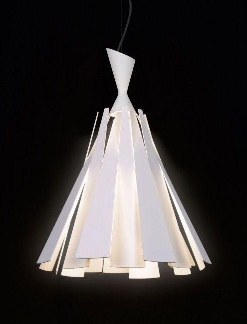 Aluminium Pendant Lamp Metronome H By Deltalightnv