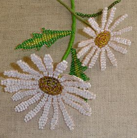 Overtræksmeteriale, Flower Bead