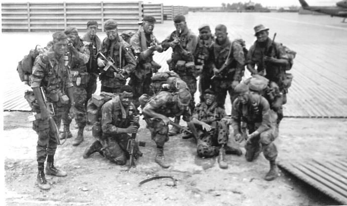 Two Ranger teams from L Company, 101st Airborne Division staging out of Quang Tri.