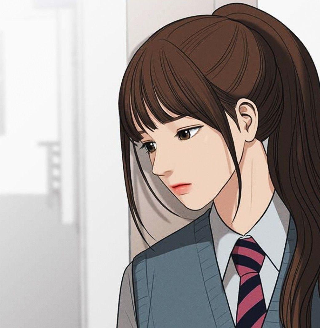 The Secret Of Angel True Beauty Webtoon Seojun Han Jukyung Lim Suho Lee Linewebtoon Wallpaper S Gadis Animasi Ilustrasi Kecantikan Gambar Wajah