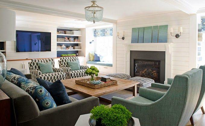 family room | Olson Lewis Architects and Kristina Crestin Design