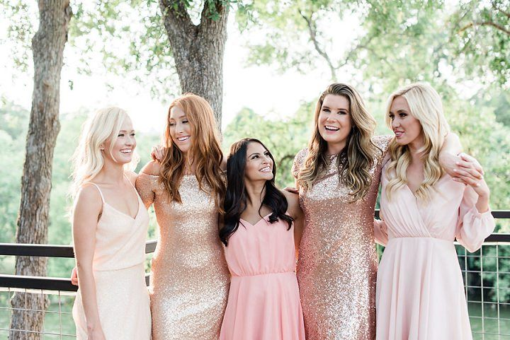 88581948cd13 Keep Shining With Revelry's Sequin Cocktail Dresses #bridesmaids  #bridesmaiddresses #blush #blushweddings #