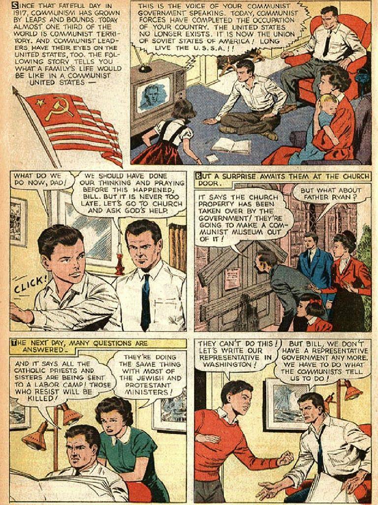 cold war propaganda ronald rave gun cold war  cold war propaganda