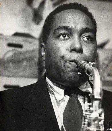 Charlie Parker at Birdland jazz club