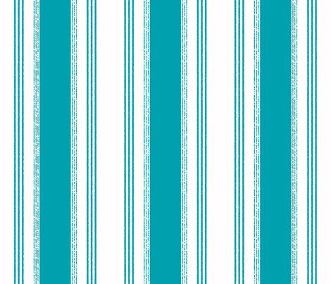 Classic Fabric French Ticking In Gris by Domesticate