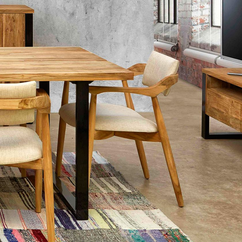 Jacko Dining room armchair – JOENFA NATURE Mobiliario | TM.Furniture ...