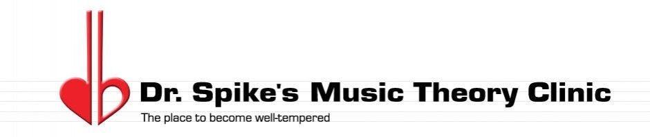 Dr SpikeS Music Theory Clinic   Music Theory Lessons And