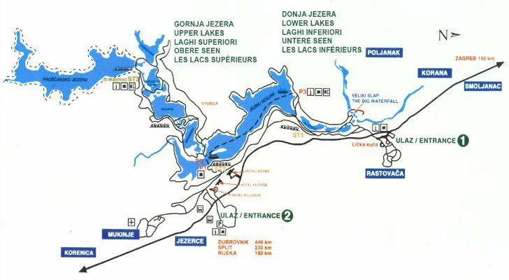 Best Way To Get From Zagreb To Plitvice Lakes National Park Including Bus Plitvice Lakes Croatia National Park Plitvice Lakes National Park