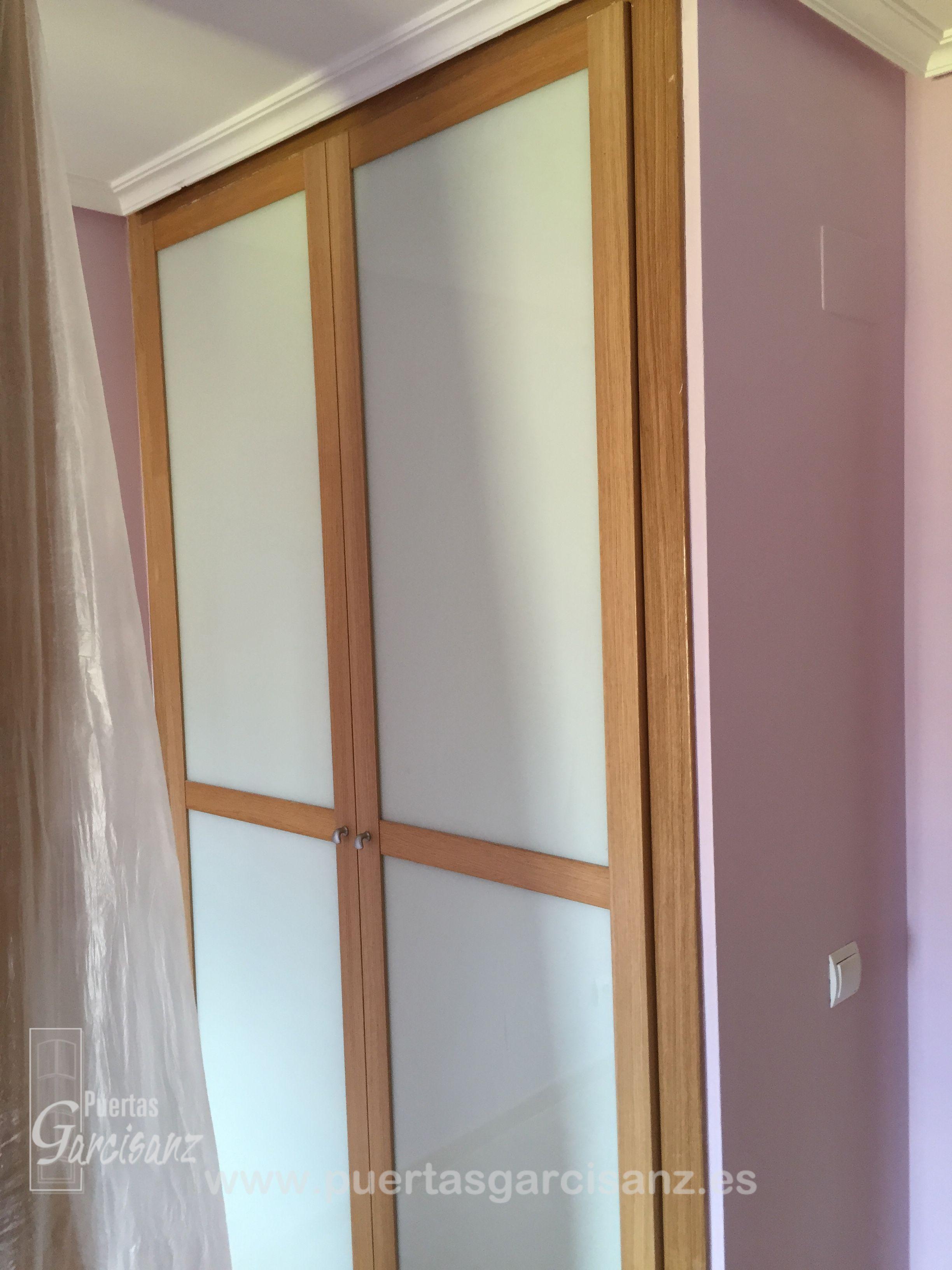 Frente de armario de dos puertas abatibles en acabado - Armario de chapa ...
