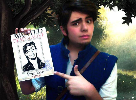 Richard with your cosplay Flynn Rider  We must remember that just as there are female cosplayers who do good works with crossplay, others do...