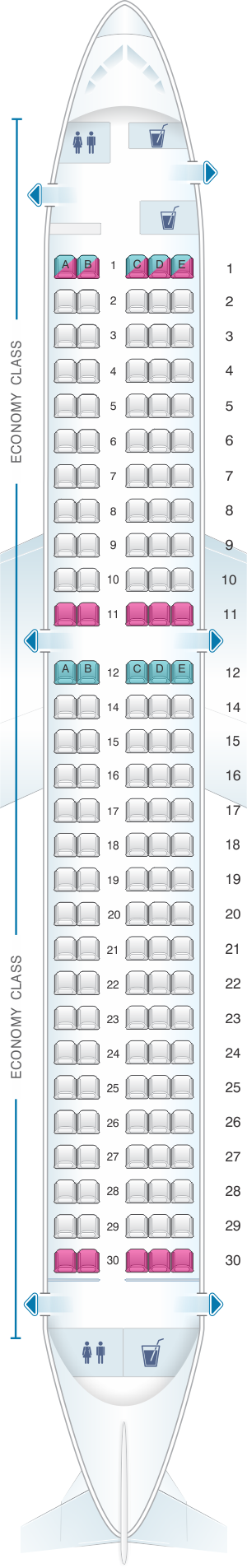 Seat Map airBaltic ardier CS300 | airBaltic | Jetstar ... China Southern Seat Map on a380 emirates map, china economy-class airline seat configuration, china southern airline, china eastern airlines seat map, china southern hotels, china southern route map, china airline a330-200 seat map for east, china southern business class, china southern frequent flyer, china map airplane, air china seat map,