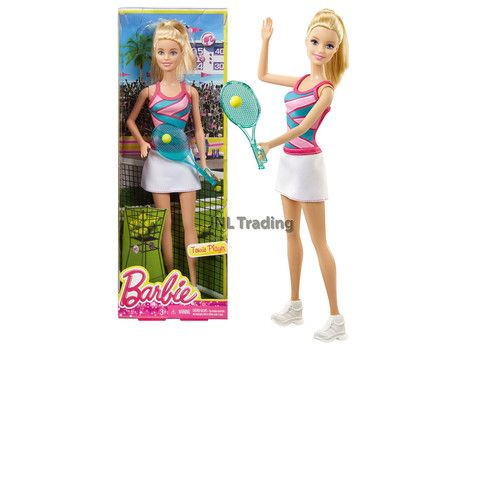 Barbie I Can Be Career Tennis Player Doll Outfit Dress Shoes Racquet Ball NEW