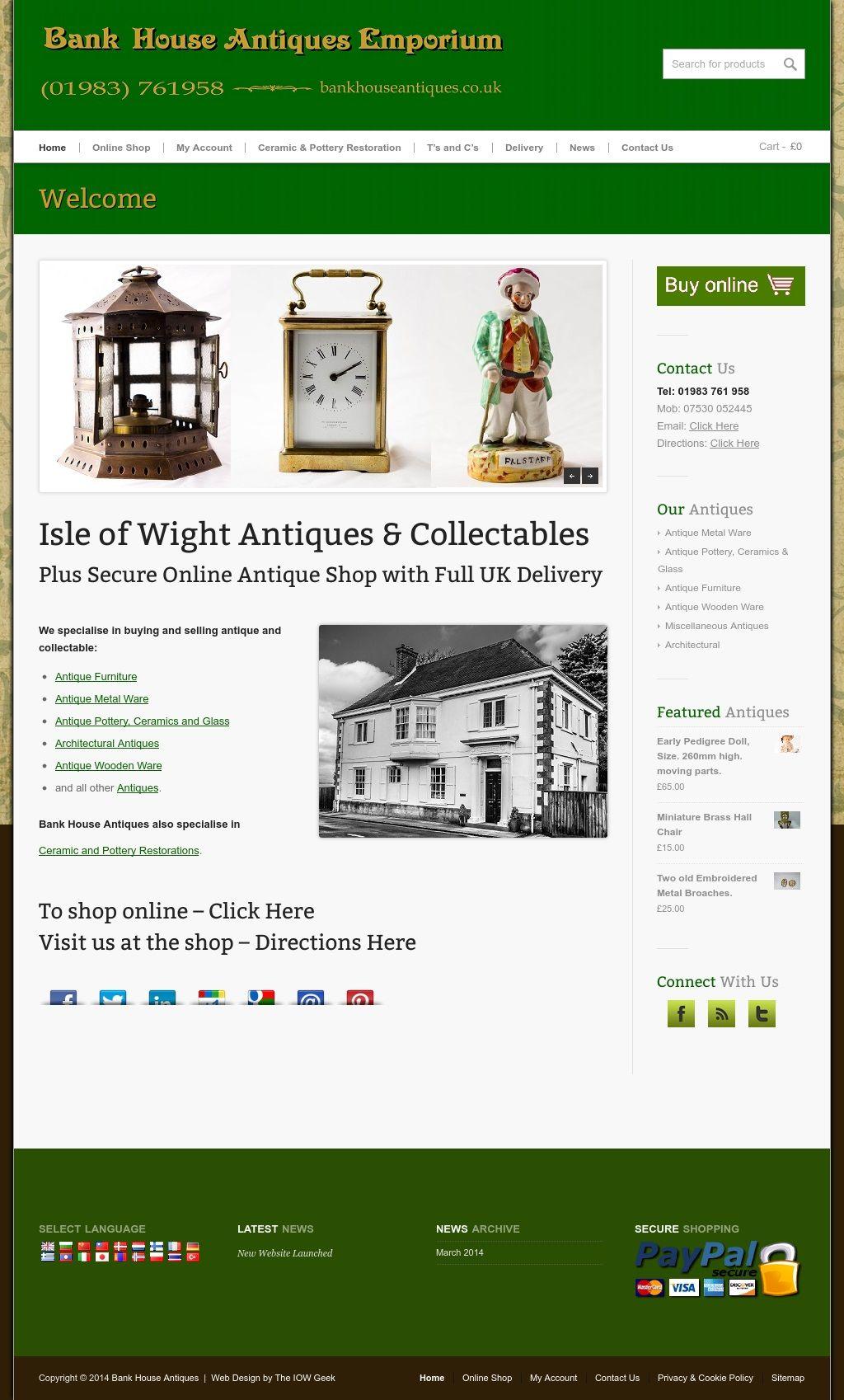 Bank House Antiques Emporium http://www.bankhouseantiques.co.uk/