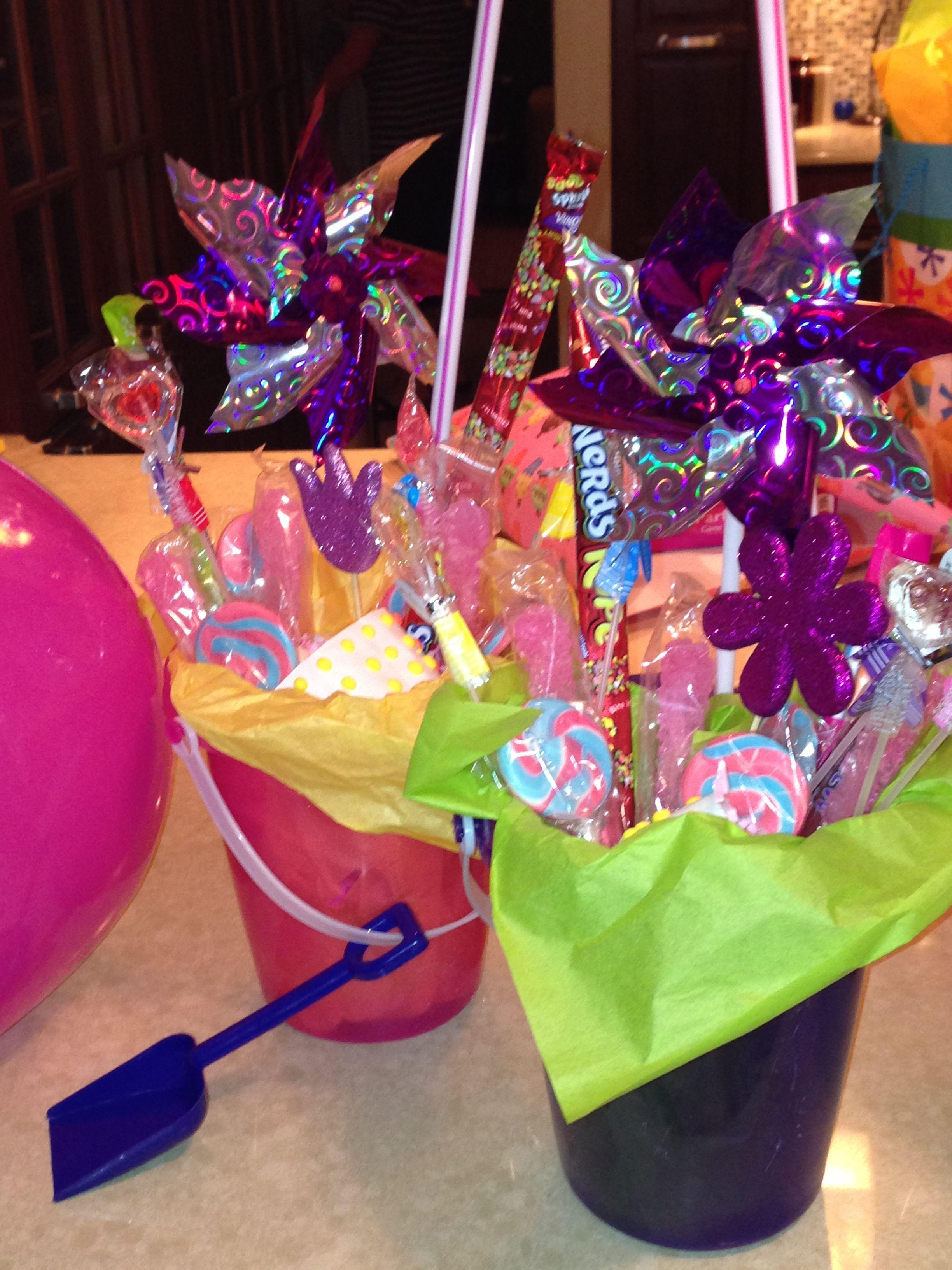 Summer birthday goodie baskets for girls summer