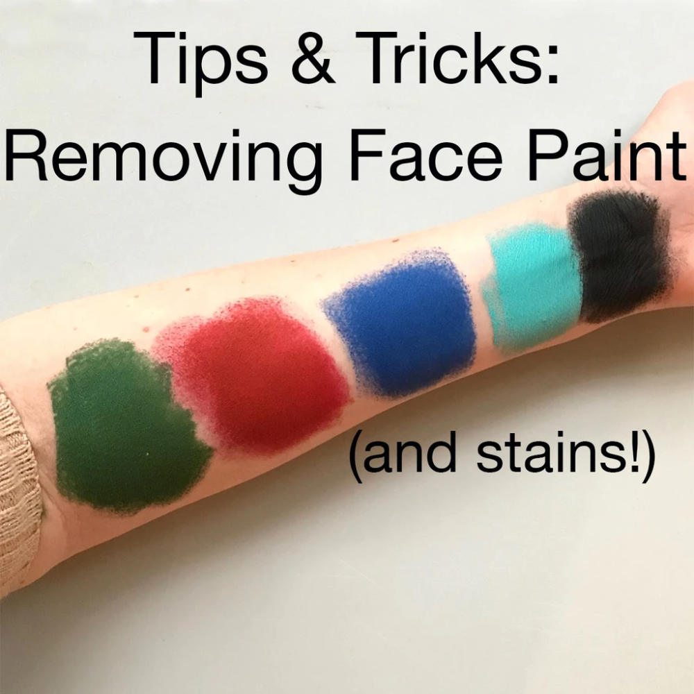 How To Remove Face Paint and Stains in 2020 Face paint