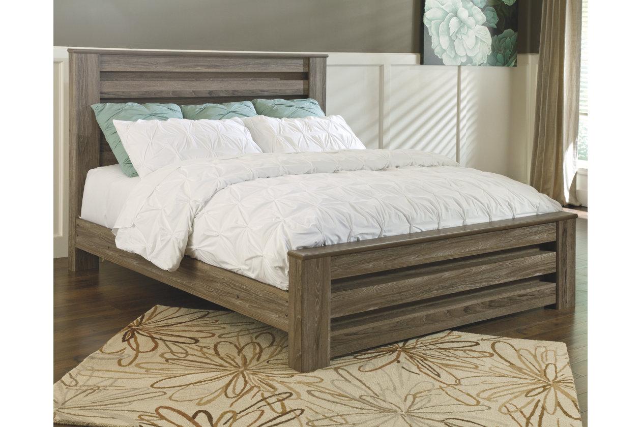 Zelen Queen Panel Bed Furniture