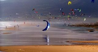 Kite surf en Tarifa.
