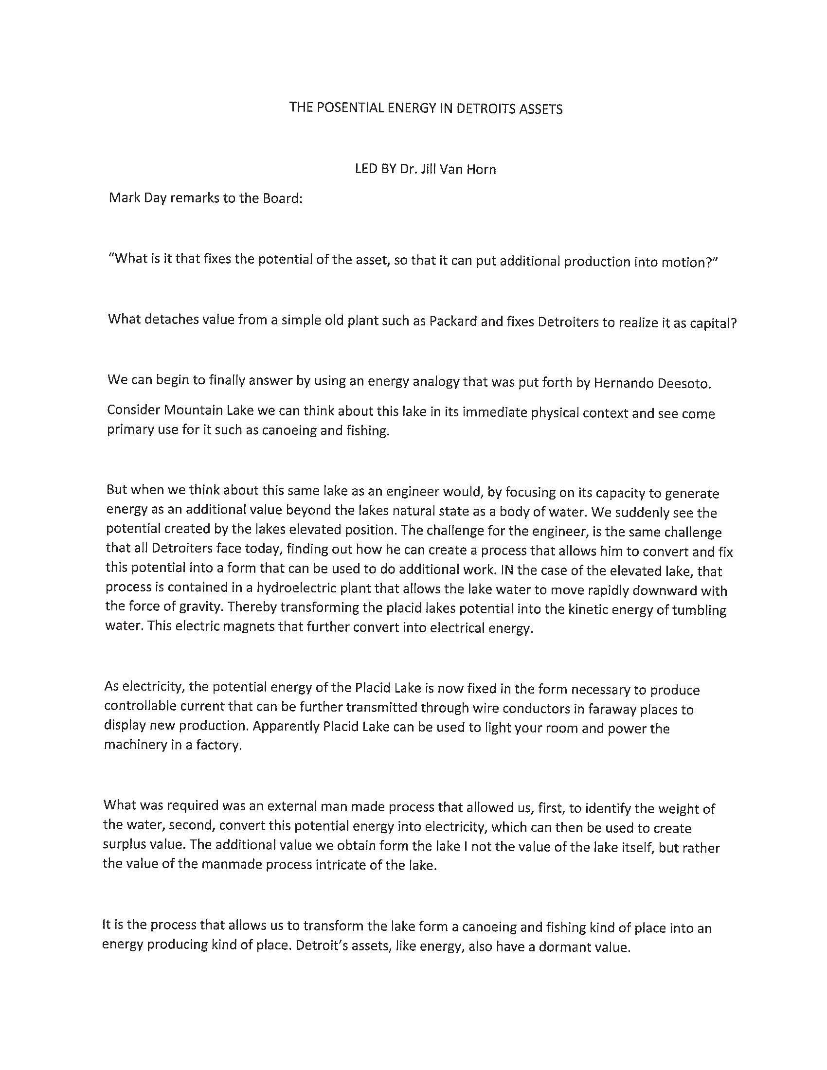 A Longer Version Of The Packard Plant Purchase News Release This Is Page 1 News Release Writing Public Relations
