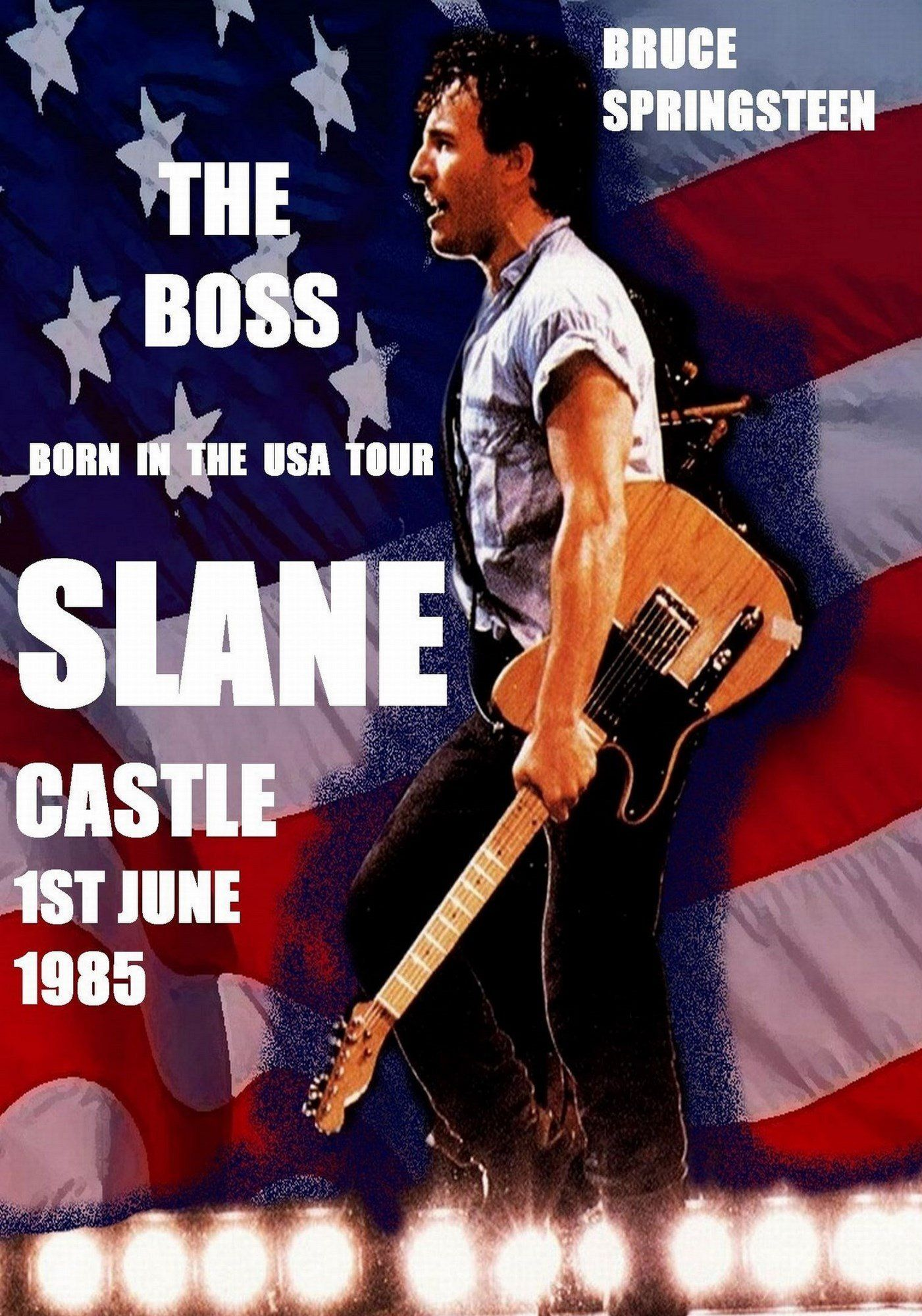 Concert Poster Bruce Springsteen