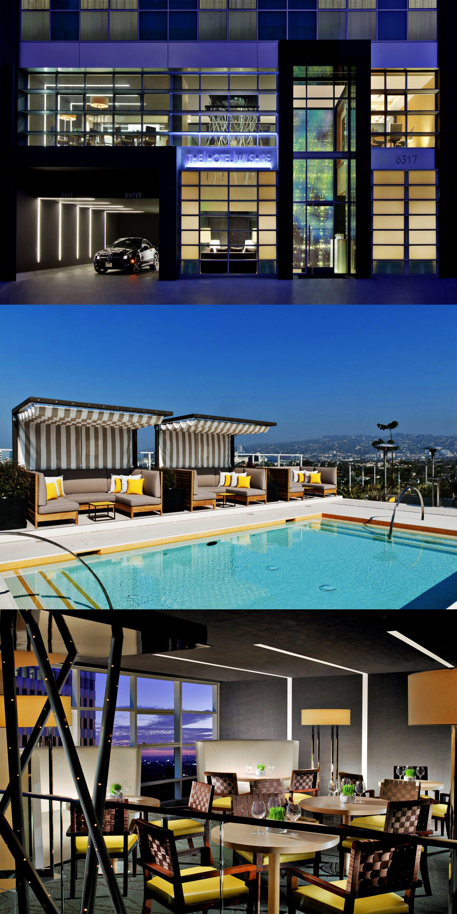 Kimpton Hotel Wilshire Los Angeles Ca Funky Spaces Pinterest