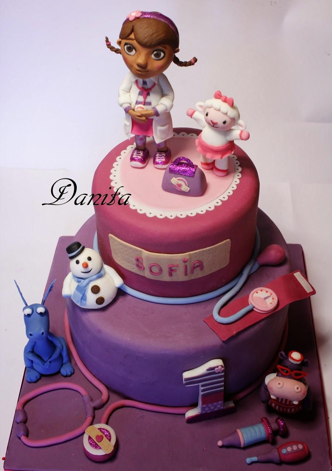 Torta Dotty, dottoressa Peluche