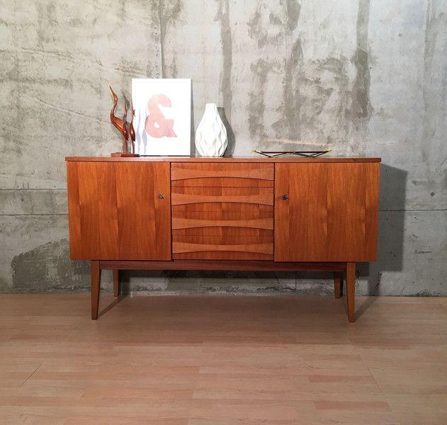 Sideboard 60er Jahre sideboard 60er 70er mid century kommode vintage 60er jahre