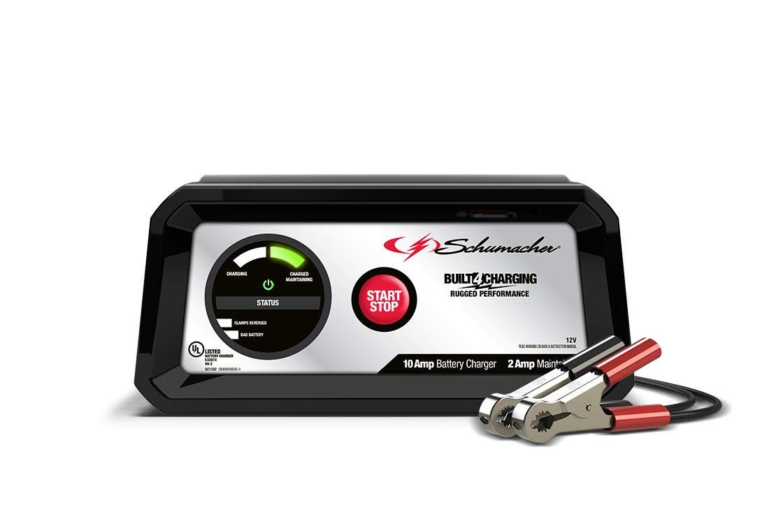 Schumacher Sc1282 12v Fully Automatic Charger And 10a Maintainer Read More At The Image Link Battery Charger Car Battery Charger Automatic Battery Charger