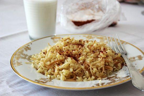 moja turecká kuchyňa: Bulgur pilav