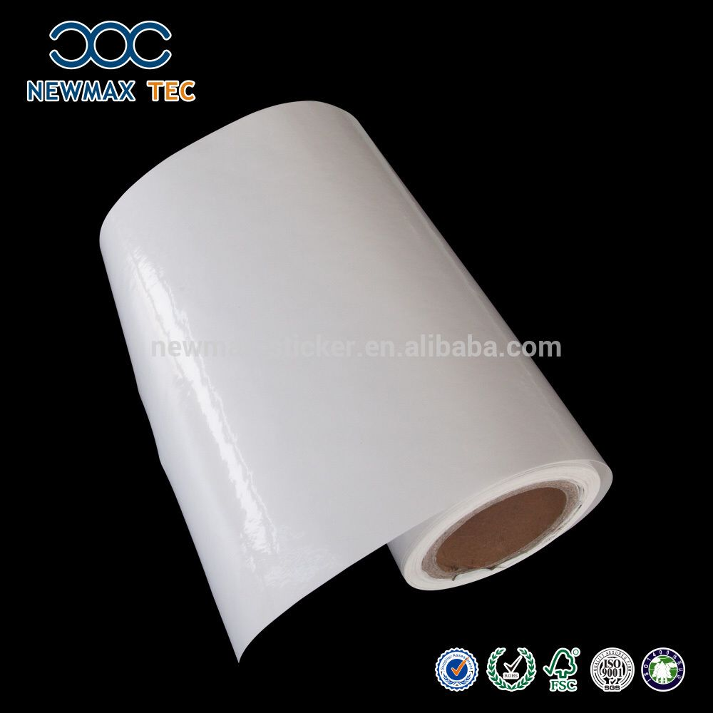 Check Out This Product On Alibabacom APP WhiteClear PVC Self - Vinyl decal paper roll