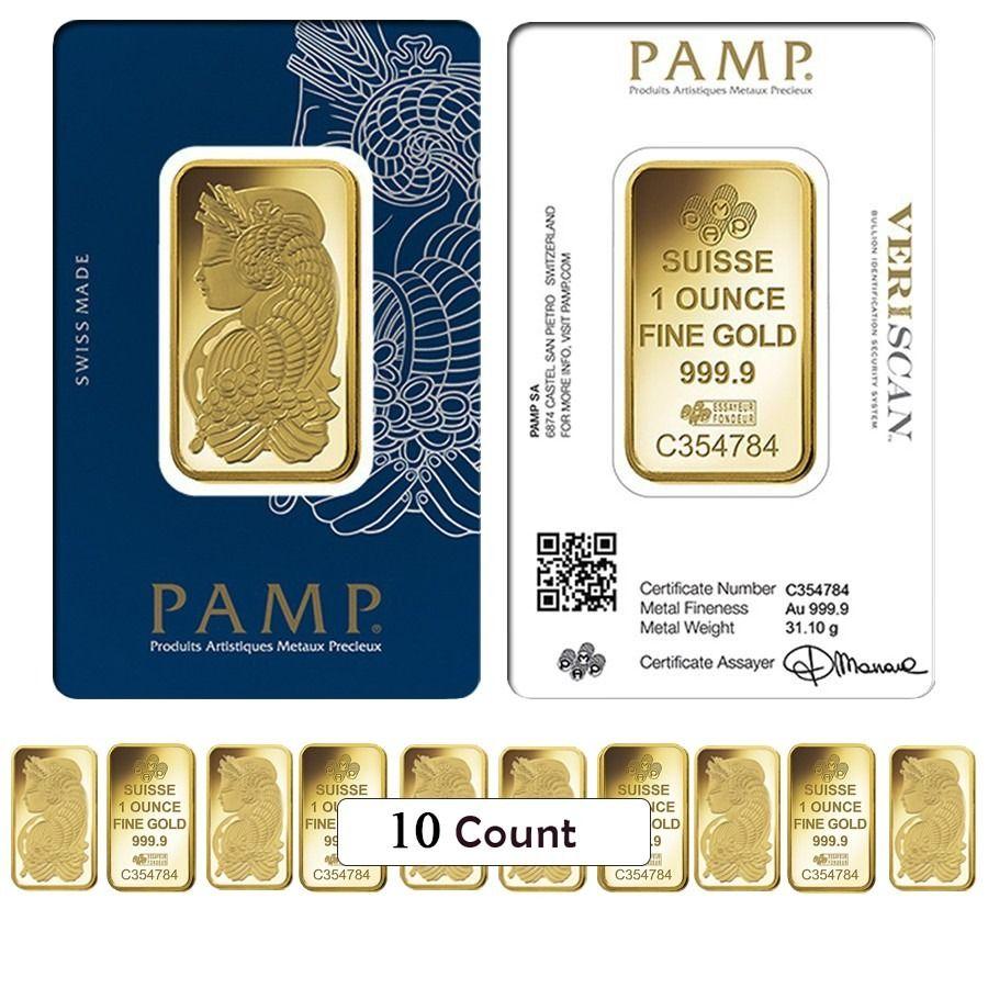 Pamp Suisse Lady Fortuna 1 Oz 999 Fine Silver Bullion Bar In Assay
