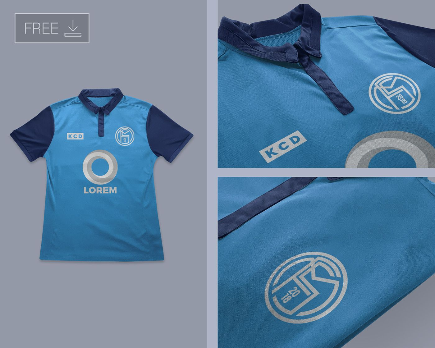 Download Free Football Soccer Jersey Logo Mockup PSD on Behance ...