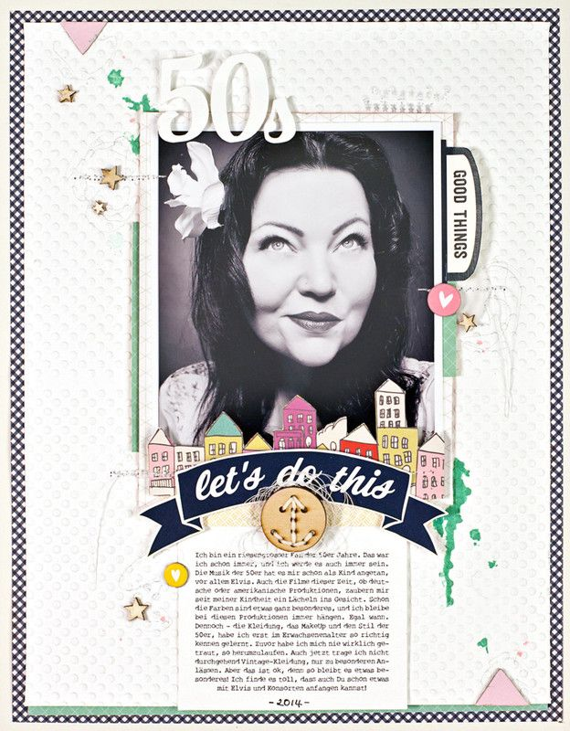 *50s* by JanineLanger at @studio_calico #scrapbooking