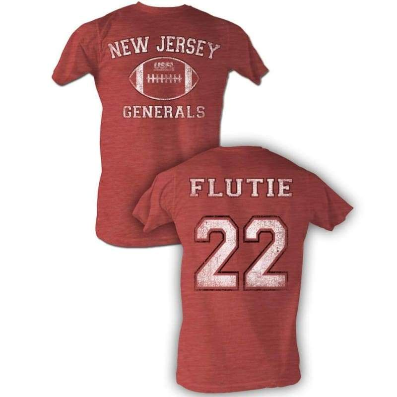 quality design 4546a 2ebe6 Usfl-flutie bnw-red heather adult s/s tshirt-s ***f&b ...