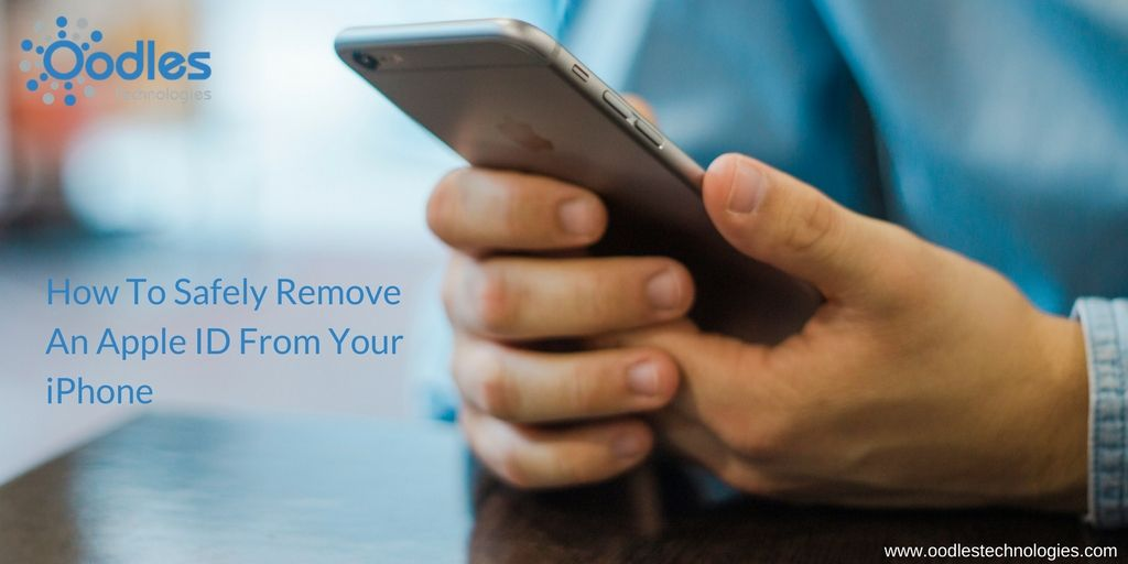 Learn how to safely remove an apple ID from your #iPhone ...