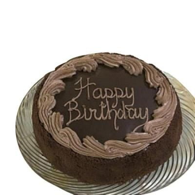 Chocolate Fudge Birthday Cake