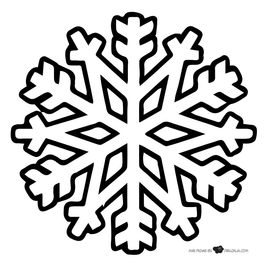 Copos de nieve siluetas estrellas navidad pinterest for Estrella de nieve