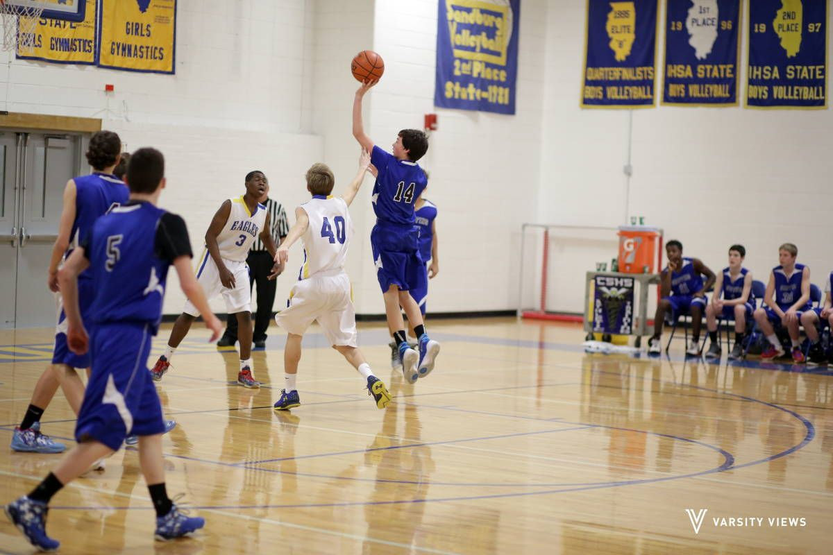 Boys Freshman A Basketball Sandburg Vs Lincoln Way East Boys East High School Freshman