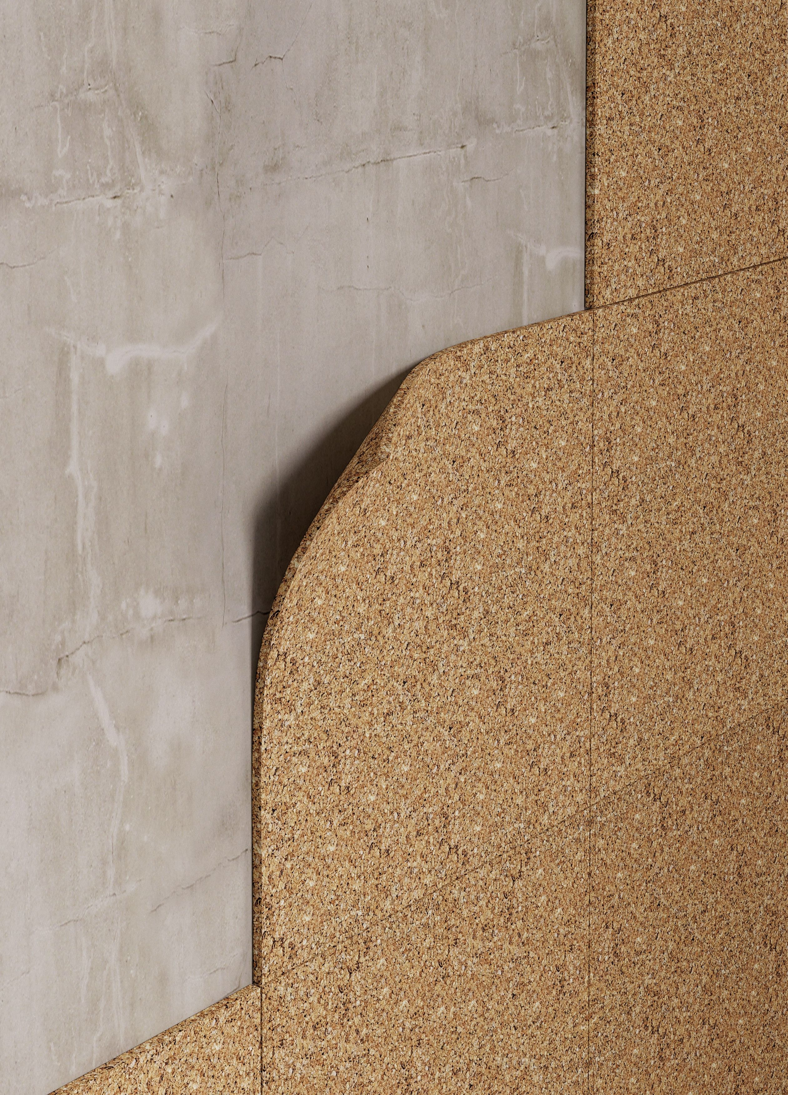 Expanded Cork Composite And Cork Boards Insulation Materials Cork Board Wall Building Materials
