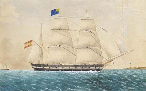 """""""Atenas""""   De esta embarcación, """"Atenas"""", capitaneada por D. Miguel Cerdá, tampoco he encontrado información alguna."""