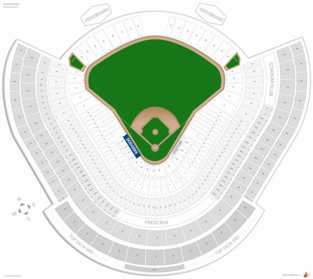 Yankee Stadium Seating Chart With Seat Numbers Di 2020