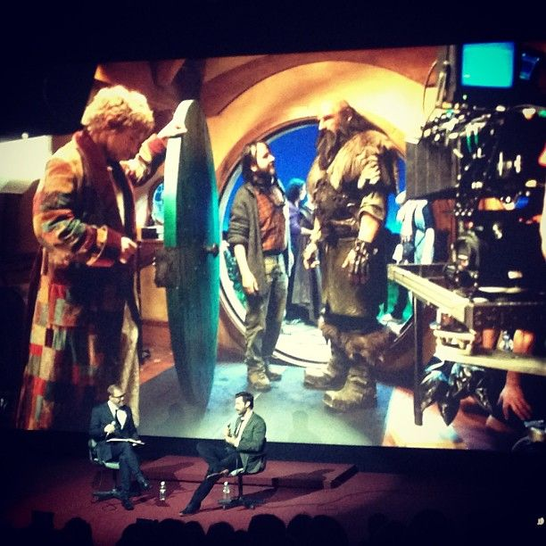 Richard Armitage live at The Hobbit screening. --  PEOPLE DO YOU KNOW WHAT I WOULD HAVE GIVEN TO BE THERE