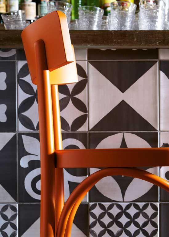 Brera | Mobili arancioni, Sedie da soggiorno e Sedie