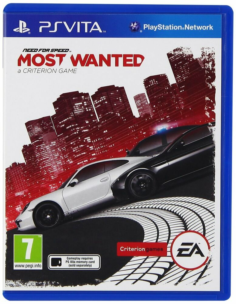 Need For Speed Most Wanted Sony Playstation Vita Factory Sealed