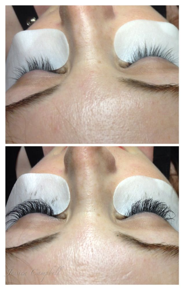 Before And After Lash Extensions Eyelash Extensions Ooh La La
