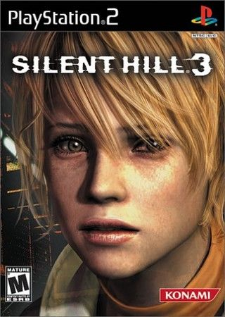 Silent Hill 3 Ps2 So You Like Disturbing Things Silenthill3 Heathermason Jogos Ps2 Jogos Capa Jogo